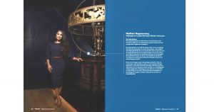 Madhavi Nagessersing in AvdR Boerhaave magazine
